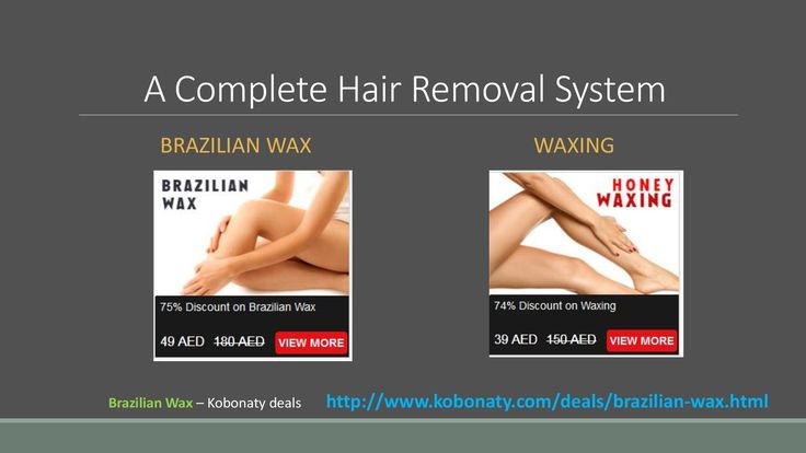 The Brazilian wax is most familiar hair removal technique. In Dubai, many spas or salons are providing Brazilian wax treatment by qualified and professional staffs. Search and find best Brazilian wax discount vouchers @ http://www.kobonaty.com/deals/brazilian-wax.html