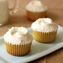 A recipe for Coconut & Pineapple Cupcakes from London's famous Hummingbird Bakery