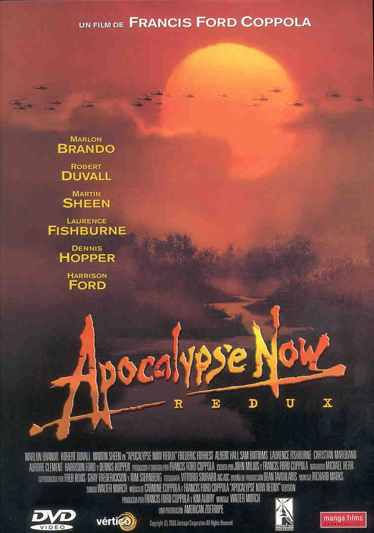 Apocalypse Now (1979) Francis Ford Coppola
