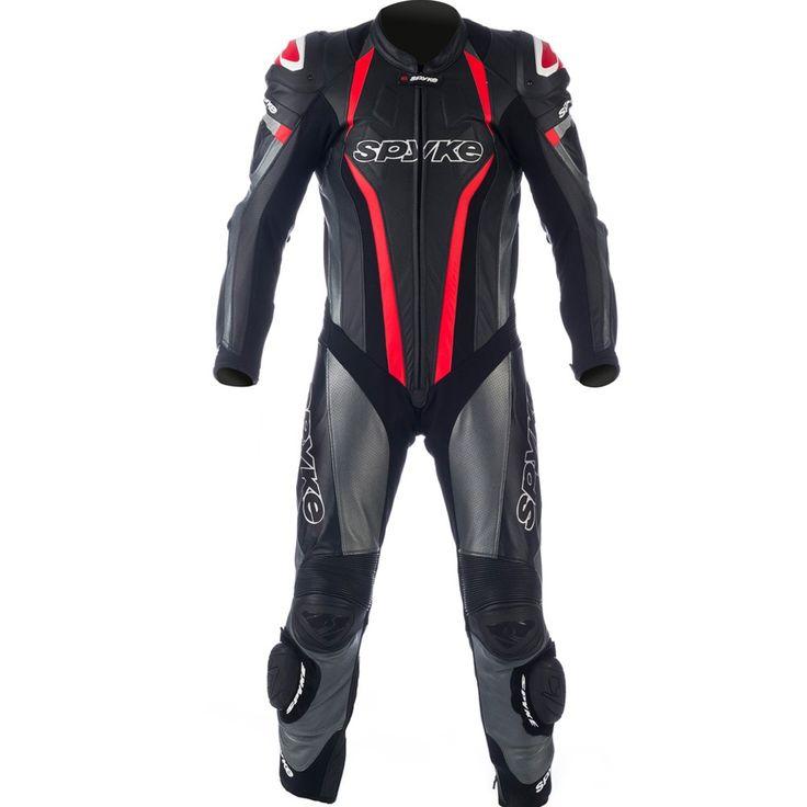 Tiendas de motos - Spyke TOP SPORT MIX KANGAROO Leather Motorcycle Suits for Men