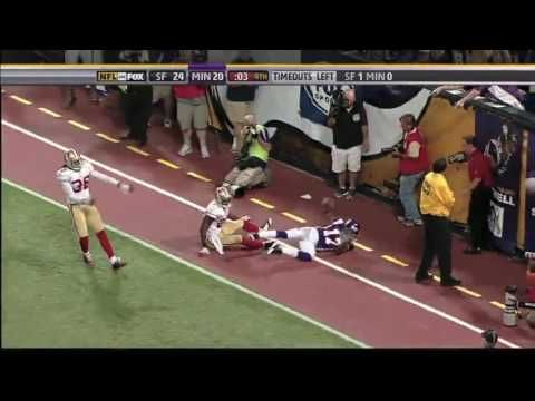 Brett Favre Miracle Pass - Paul Allen on the play by play - The best TD throw in NFL history!!