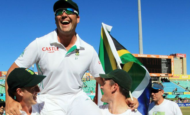 Jacques Kallis ends his Test career with a victory