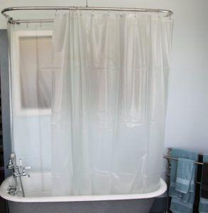 Clawfoot Tub Shower Curtain Liner