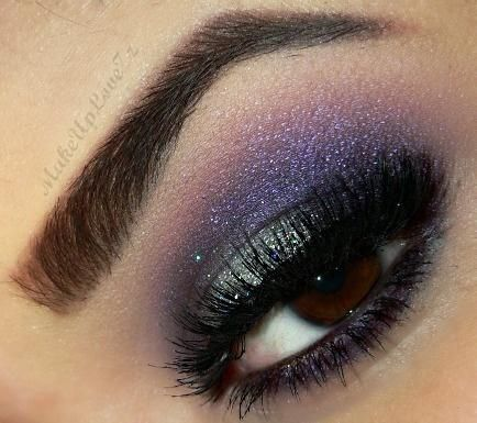25+ beste idee?n over Purple Wedding Makeup op Pinterest