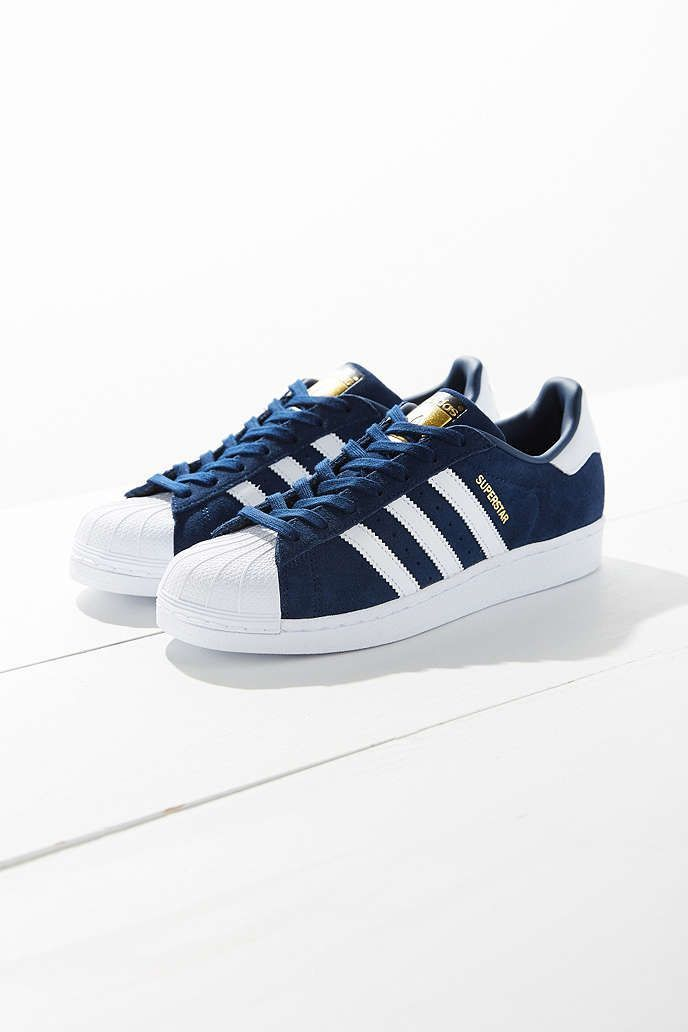 Shop adidas Suede Superstar Sneaker at Urban Outfitters today.