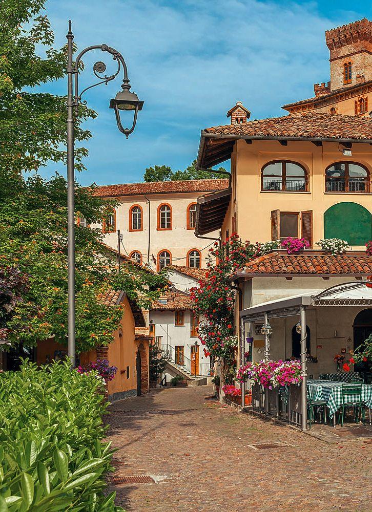 Barolo (Piemonte, Italy) by Rostislav Glinsky