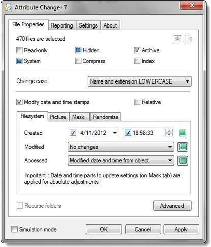 """Come modificare gli """"Attributi"""" di Files, Archivi e Cartelle ( clicca l'immagine x leggere il post )"""