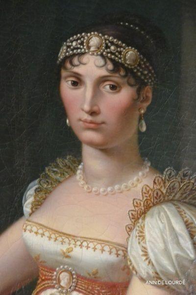 Elisa Bonaparte Spring 2016, Le Château de Fontainebleau, Fontainebleau, France.