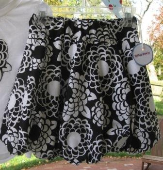 Reversible Bubble Skirt