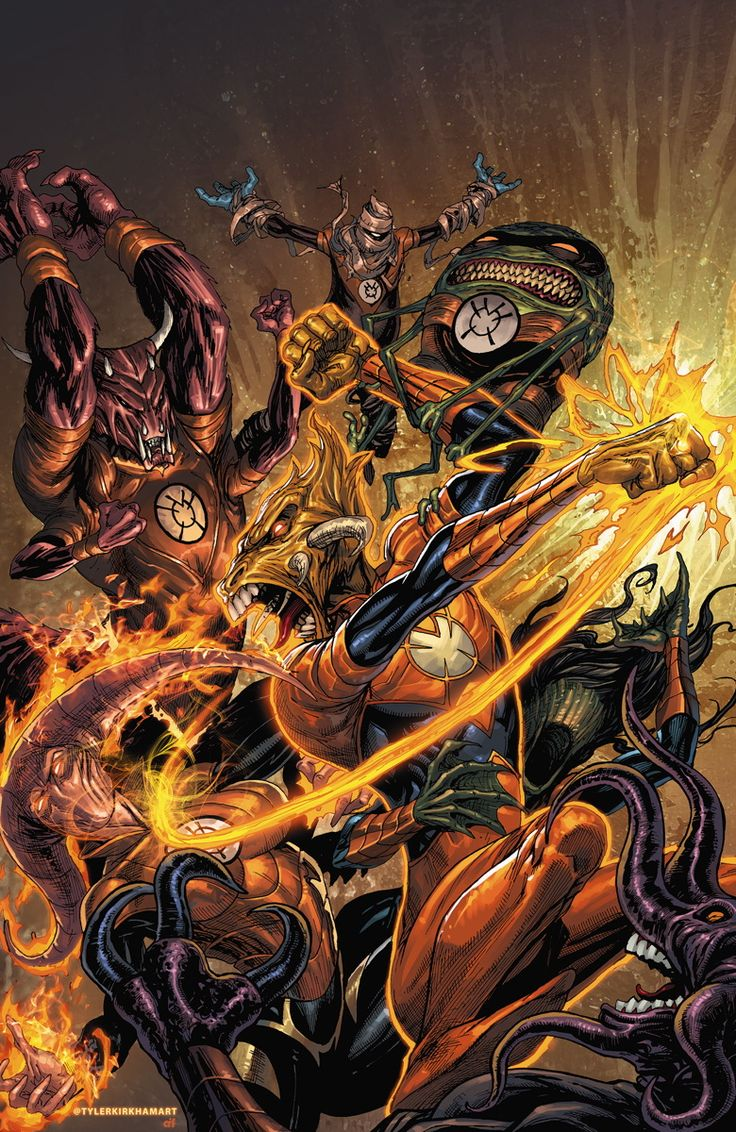 The Book of Larfleeze [par STARGRAVE, P. Plon. Okaara, 2020, 1p.] 71f7347a419531f50defed381bfe3158