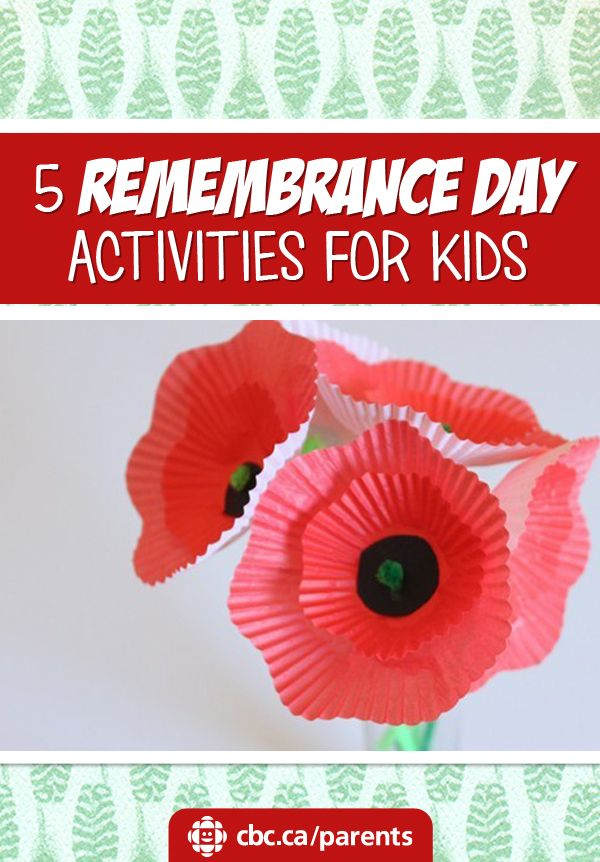 5 Remembrance Day Activities For Kids | Learning