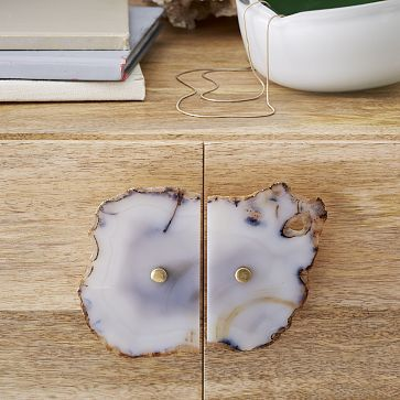 Agate Cabinet Handle Set - Light Gray