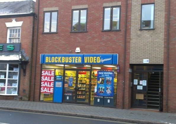 More Job Losses Set To Happen In Ilkeston as Blockbuster Enters Administration