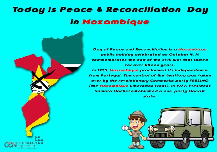 Today is Peace and Reconciliation Day in Mozambique! 🇲🇿️ #mozambique #peace