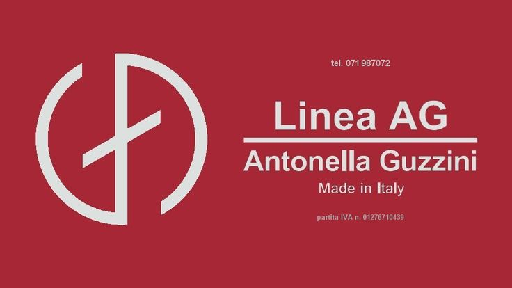 Linea AG by ANTONELLA GUZZINI, 100% Made in Italy - Recanati, MC, Italy