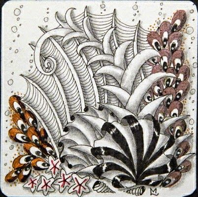 Zentangle & Zentangle Inspired Art ( ZIA ) zendoodle