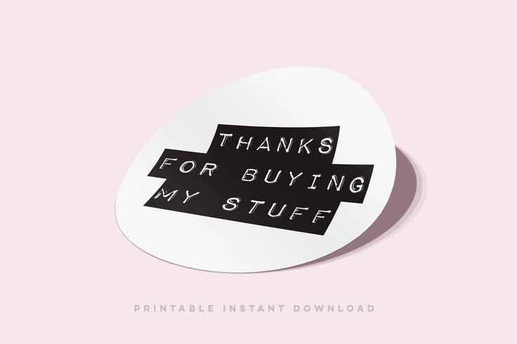 Thank You Stickers | Product Packaging Thank You Labels | Printable Stickers | Small Business Supplies | Packaging Stickers | Etsy Stickers by CoffeeAndSass on Etsy https://www.etsy.com/listing/520192038/thank-you-stickers-product-packaging