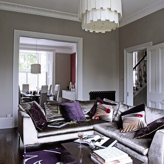 86 Best Purple And Green Livingroom Images On Pinterest