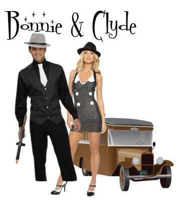 Bonnie and Clyde were gangster American Outlaw bank robbers in the Great Depression era, which started in 1929 and lasted through the l...