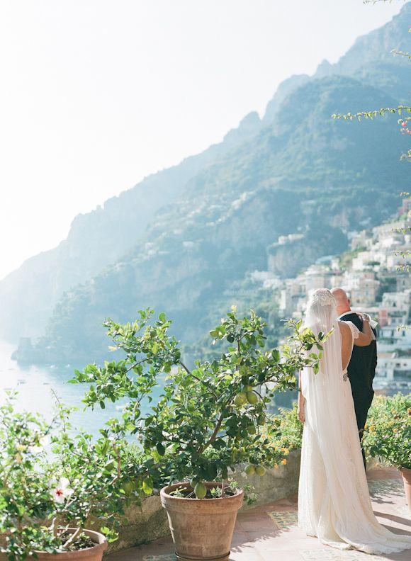 Intimate Amalfi Coast Elopement