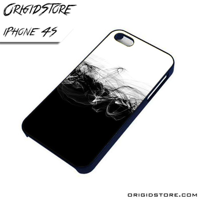 Black and White Abstract 2 AL iPhone 4/4S case