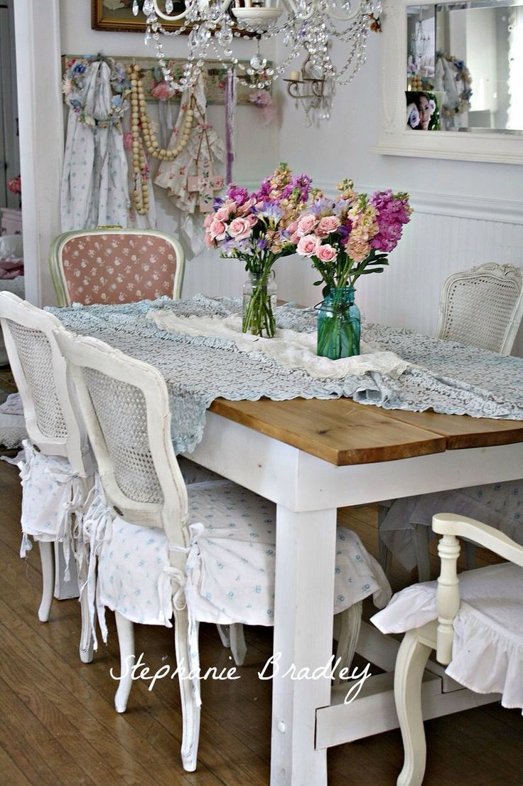 17 Best Ideas About Shabby Chic Dining On Pinterest Wall Art For