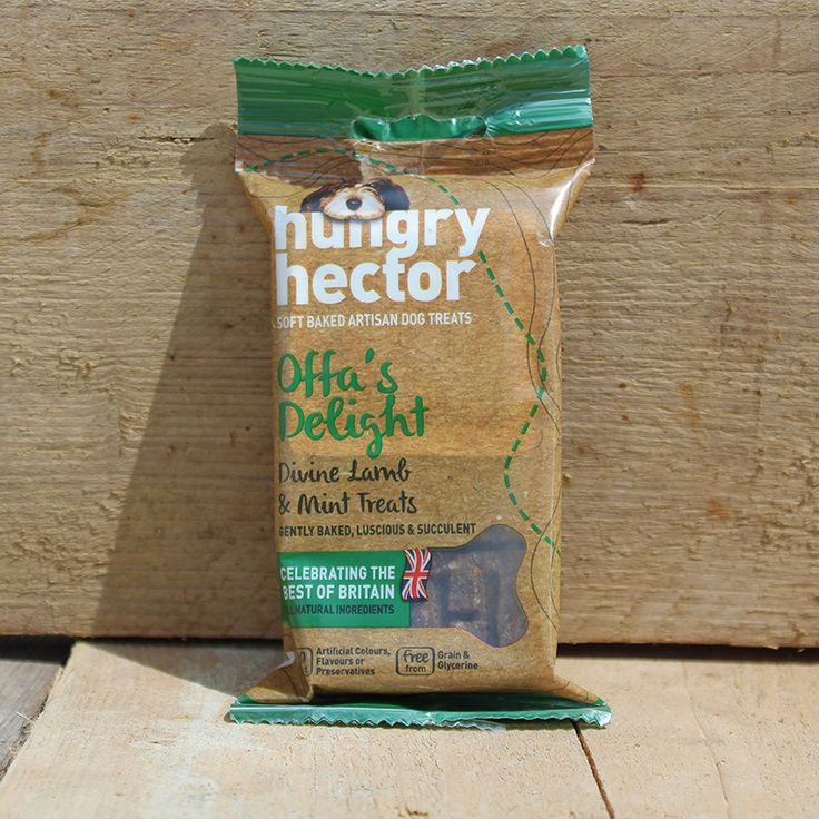 Hungry Hector Divine Lamb and Mint Grain-Free Dog Treats