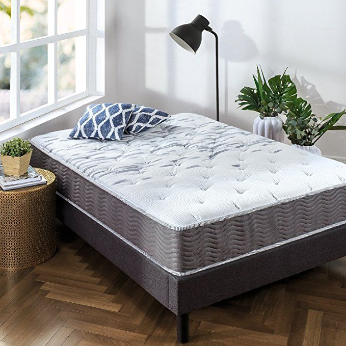 Zinus 10 Inch Performance Plus Extra Firm Spring Mattress Queen