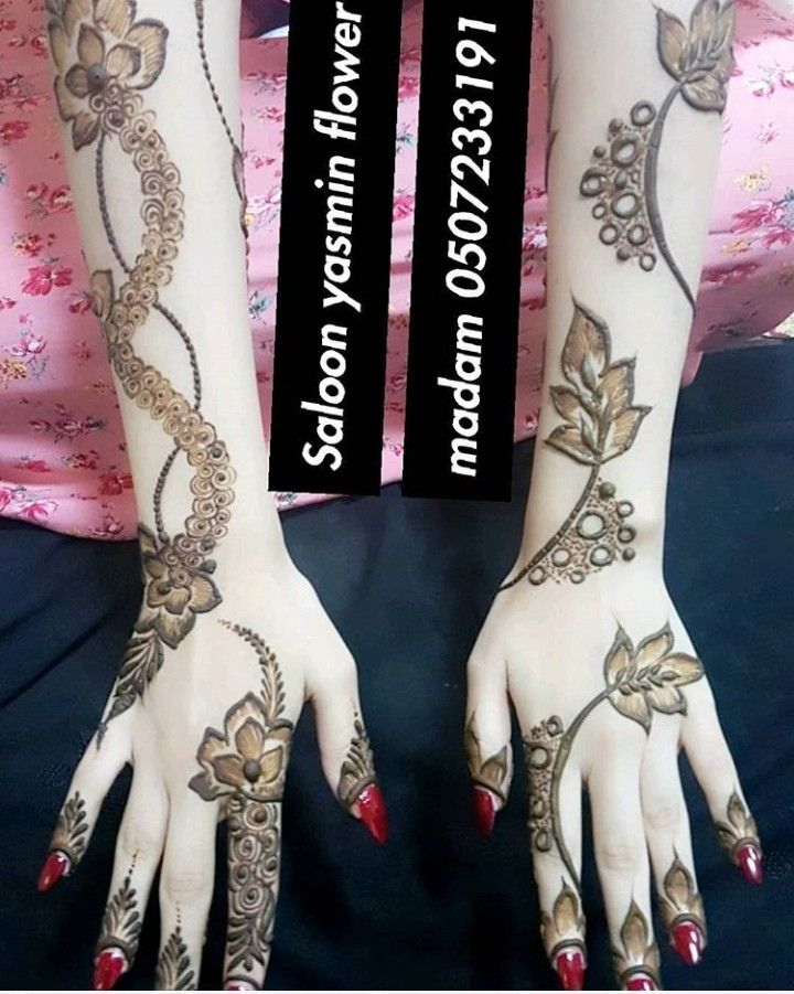 Pink Rose Mehndi Art Designs Henna Designs Hand Latest Henna Designs