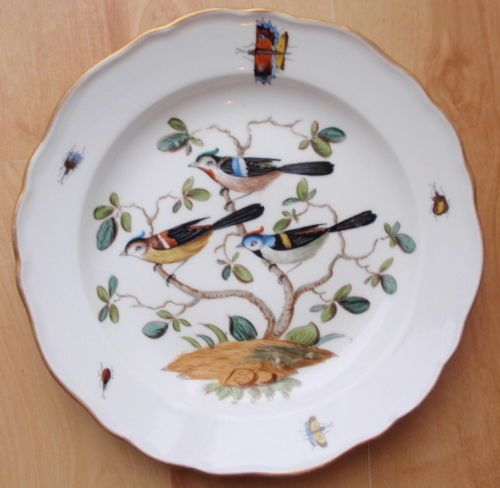 19thC Meissen Bird Plate & 379 best Birds on Plates u0026 Cups images on Pinterest | Dish sets ...