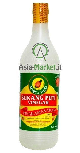 Aceto di canna da zucchero - Marca Pina 1L.