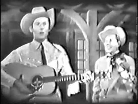 "Hank Williams, Sr. on the Kate Smith Evening Hour vol. 2 - his last television aoperance. Group singing ""Glory Bound Train"""