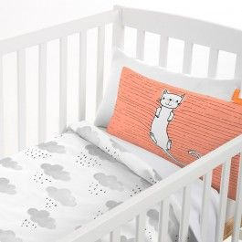 RAINDROPS COT DUVET COVER