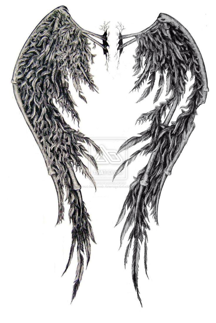 Best 25+ Angel wing tattoos ideas on Pinterest | Wing tattoos ...