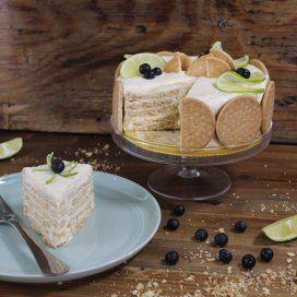Pay de Limón con Galletas Marías | Nunca más se te va a olvidar comprar limones cuando vayas al súper con esta deliciosa y refrescante receta.