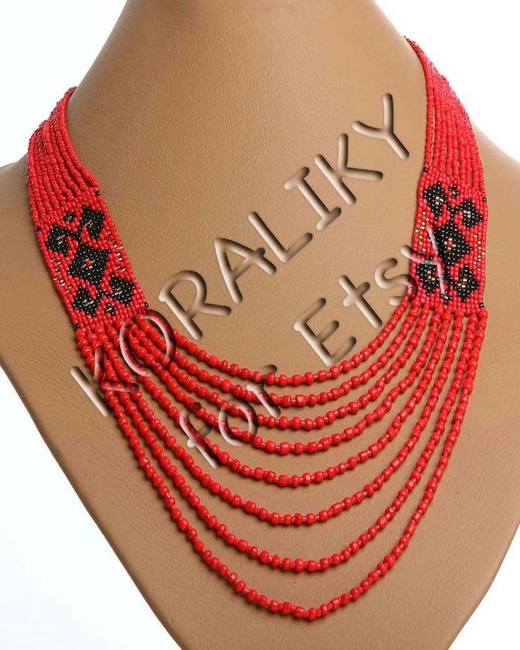 Traditional Ukrainian Folk Handmade Jewelry Beads door koraliky