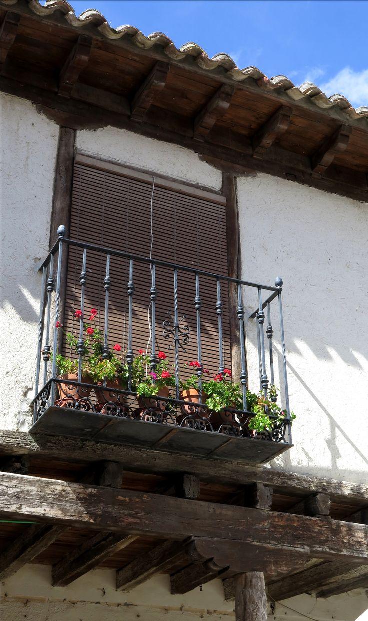 Balcón en Ampudia (Palencia)