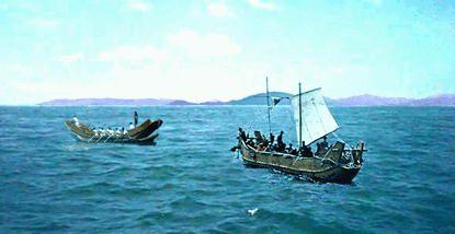 Barcazas del periodo Kofun