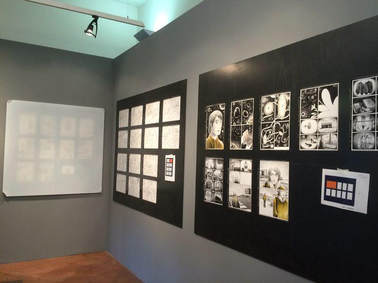 """Backstage mostra """"Fumetto italiano. Cinquant'anni di romanzi disegnati"""", fino al 24 aprile al Museo di Roma in Trasetevere www.romanzidisegnati.it"""