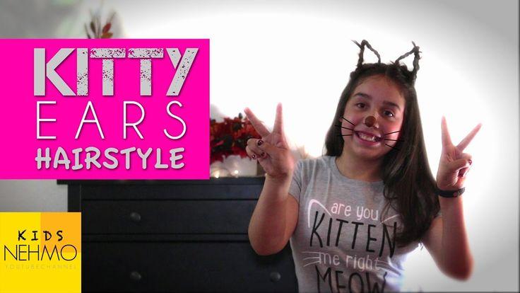 DIY Kitty Ears Hairstyle