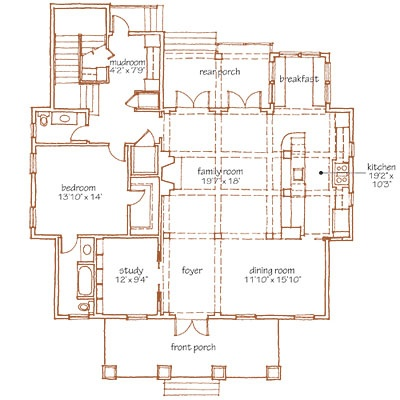 Southern Living Open Floor Plans