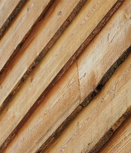 The British larch cladding supplied by Vastern Timber is tough and durable and offers a cost effective alternative to cedar and Douglas fir.