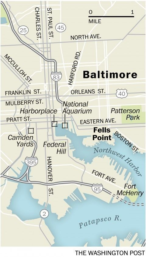 Spending a city weekend in Fells Point, Baltimore - The Washington Post