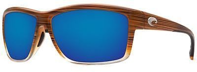 Costa Mag Bay 580P Sunglasses - Polarized Wood Fade Blue Mirror 580p One Size