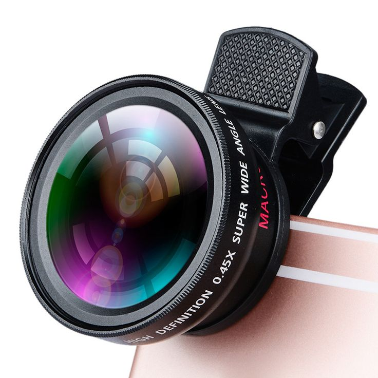 Wide-Angle Clip-on Optic Lenses Single-layer Coating Glass