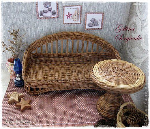 Декор предметов Поделка изделие Плетение Моё плетение Апрель Трубочки бумажные…