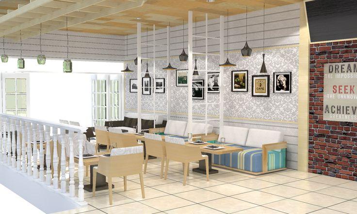 Cafe milik ibu Eka, Bogor