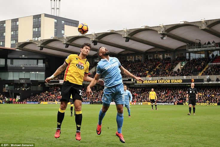 Watford 0-1 Stoke: Gomes own goal gifts Potters rare away day victory