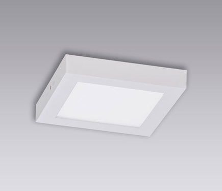 Plafón 1 luz BOX LED - Leroy Merlin