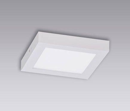 Plafón 1 luz BOX LED - Leroy Merlin
